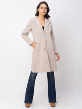 Load image into Gallery viewer, Globus Camel Solid Coat-2