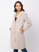 Load image into Gallery viewer, Globus Camel Solid Coat-4