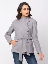 Load image into Gallery viewer, Globus Denim Striped Coat-1