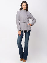 Load image into Gallery viewer, Globus Denim Striped Coat-2