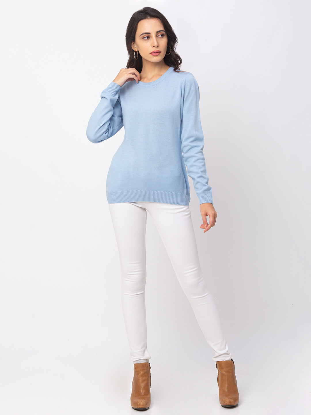 Globus Sky Solid Sweater-2