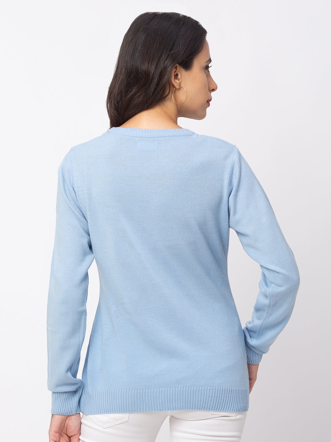 Globus Sky Solid Sweater-3
