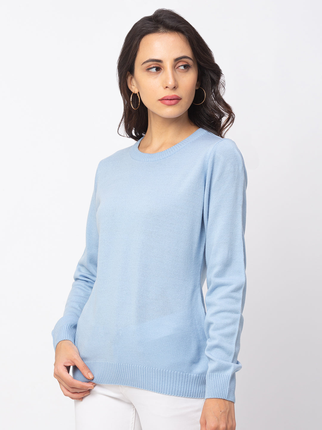 Globus Sky Solid Sweater-4