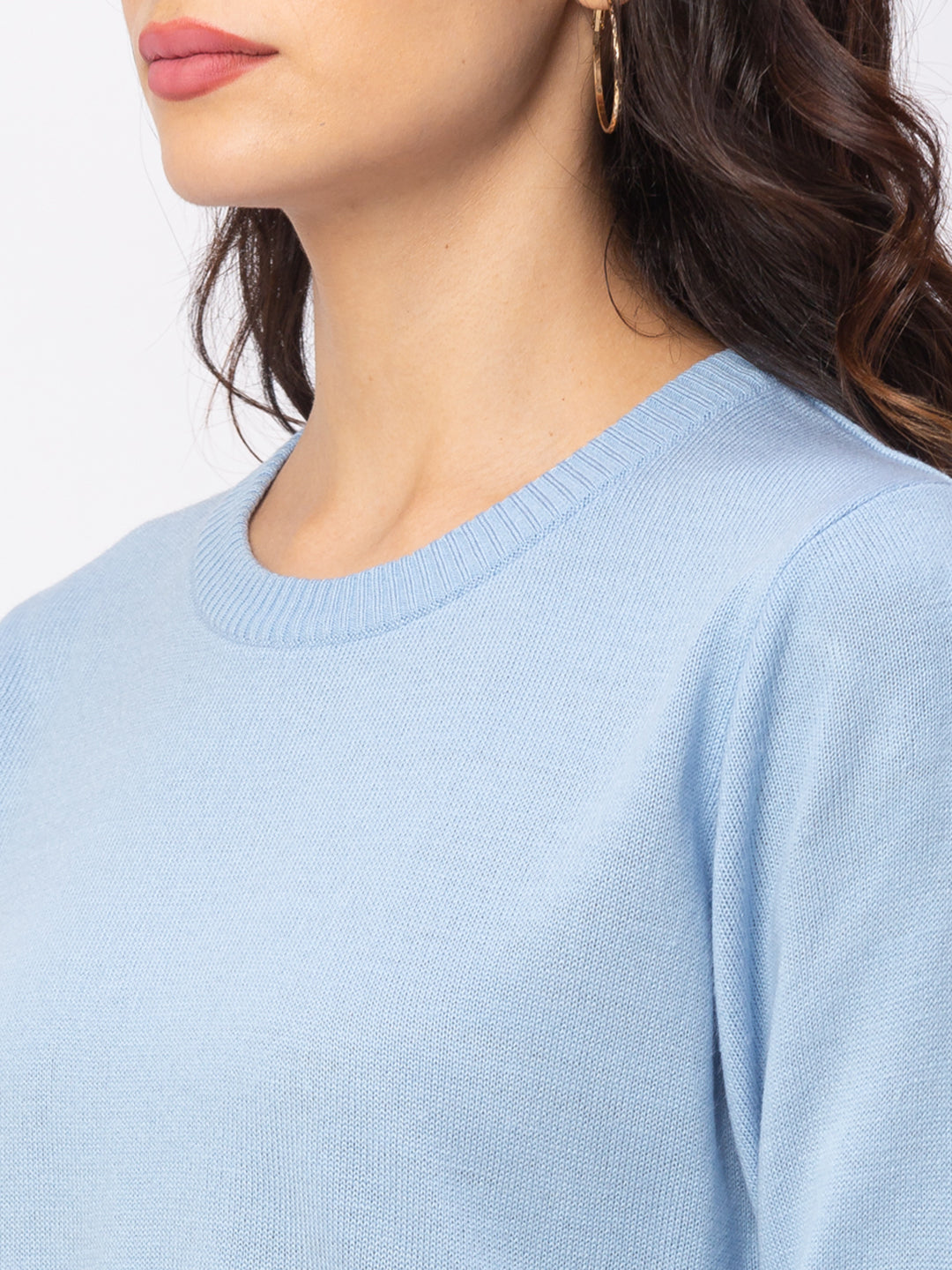 Globus Sky Solid Sweater-5