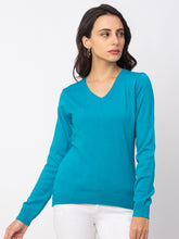 Load image into Gallery viewer, Globus Aqua Solid Sweater-1
