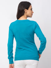 Load image into Gallery viewer, Globus Aqua Solid Sweater-3