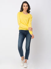 Load image into Gallery viewer, Globus Lemon Solid Sweater-2