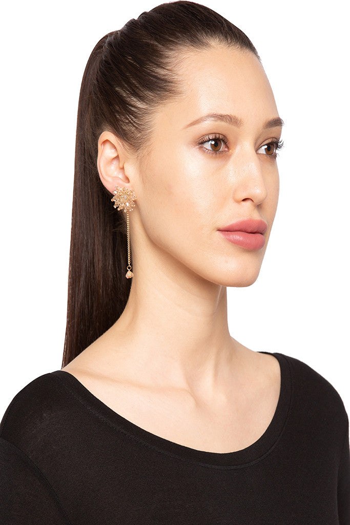 Dangling Chain Earrings-3