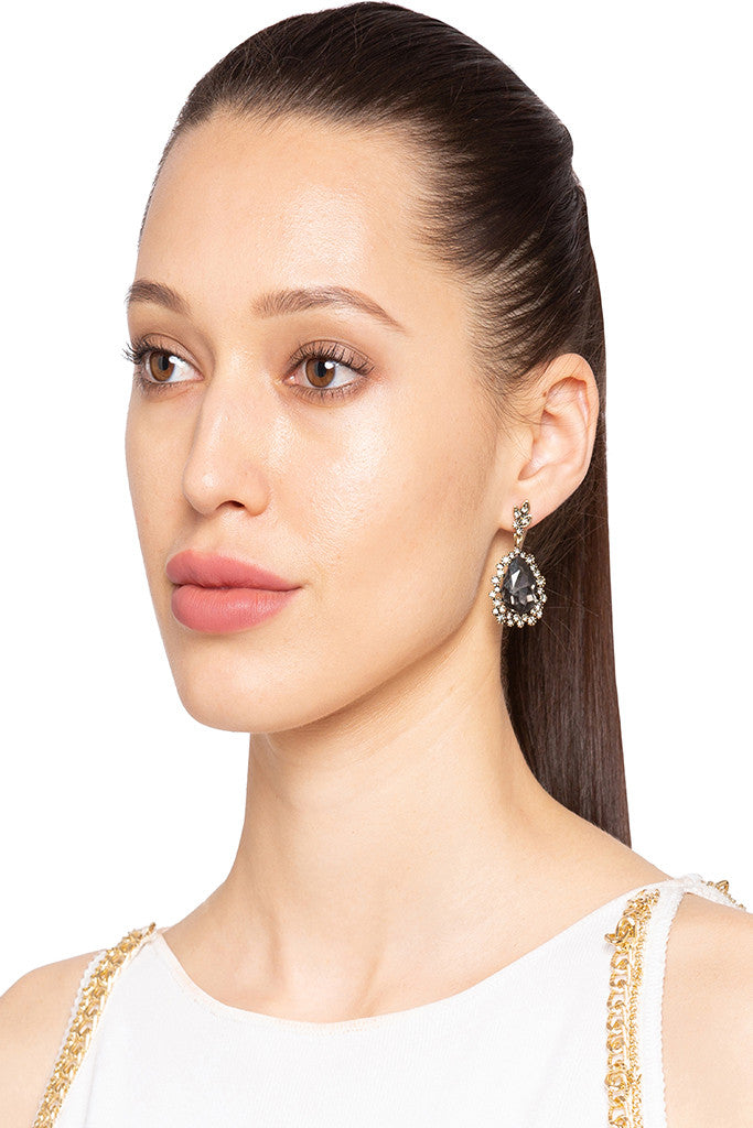 Stone Dangling Earrings-3