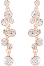 Load image into Gallery viewer, Stone Rose Gold Chandelier Earrings-1