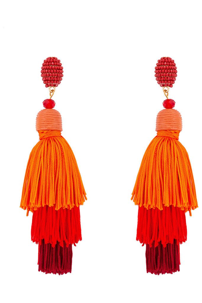 Bead Thread Tassel Danglers-1