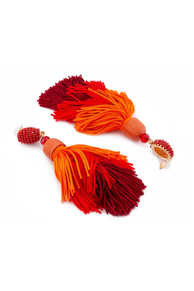 Bead Thread Tassel Danglers-2