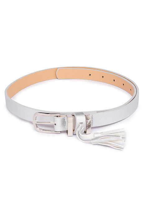 Tasselled Slim Belt-1