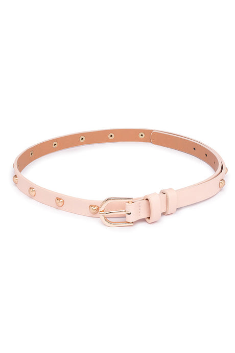 Star Motif Studded Belt-1