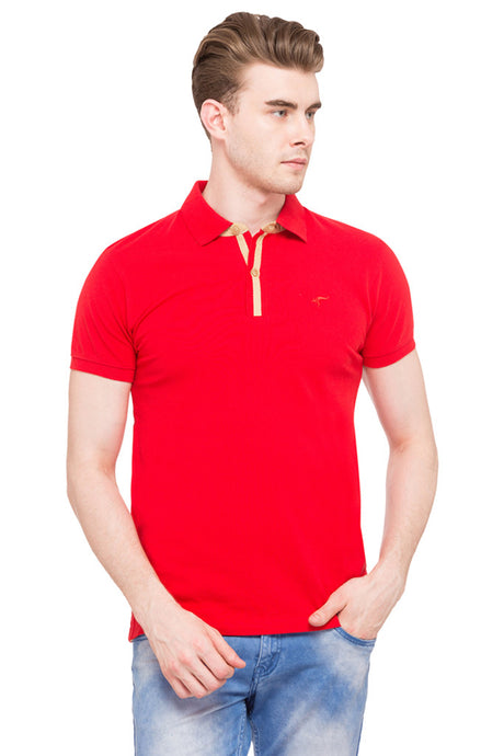Solid Polo T-shirt-1