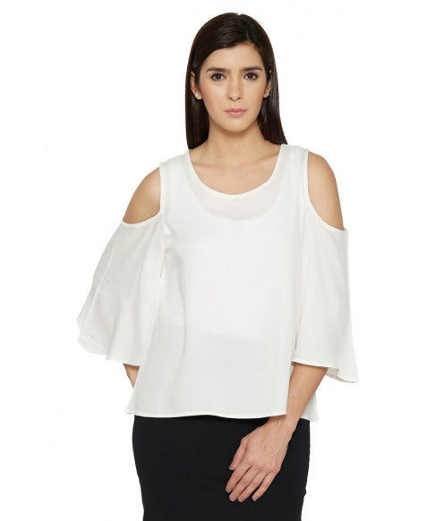 Cold Shoulder Top-1