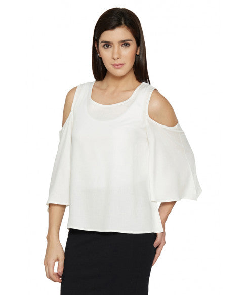 Cold Shoulder Top-2