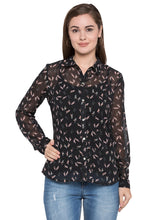 Load image into Gallery viewer, Bird Print Shirt-1