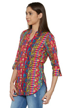 Load image into Gallery viewer, Printed Ethnic Kurti-2