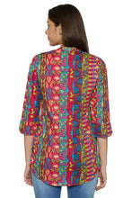 Load image into Gallery viewer, Printed Ethnic Kurti-3