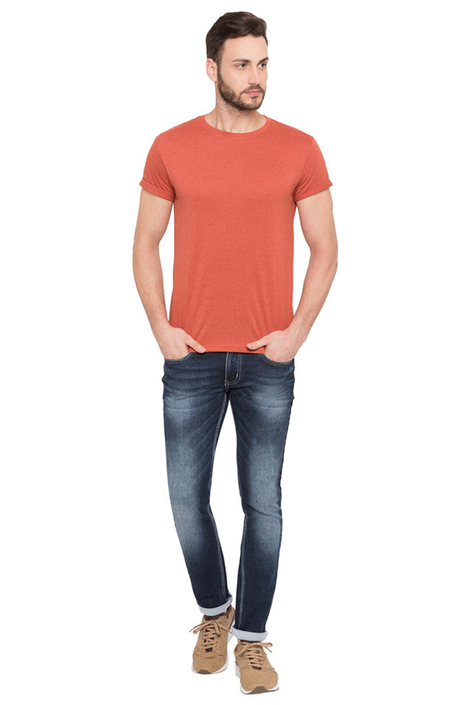 Skinny Fit Washed Denims-2
