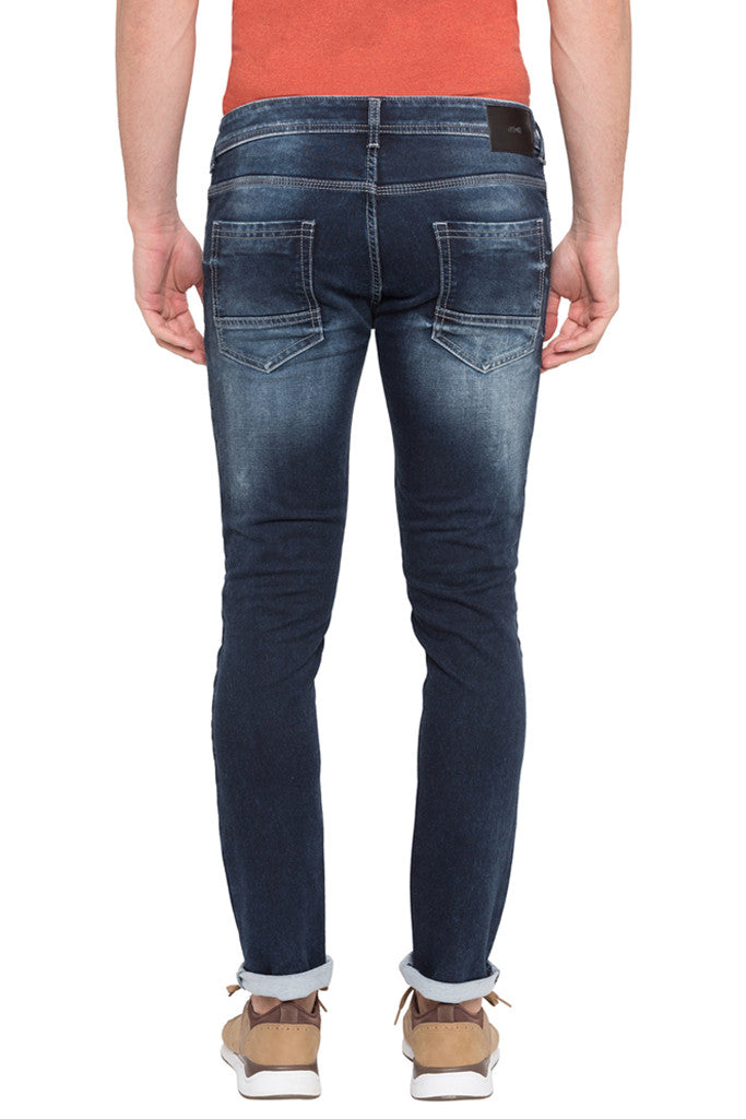 Skinny Fit Washed Denims-3
