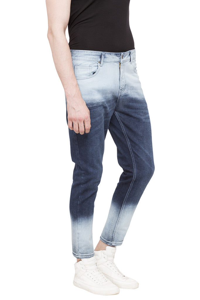 Slim Fit Ombre Effect Denims-4