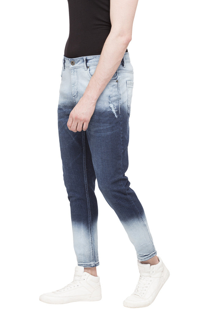 Slim Fit Ombre Effect Denims-5
