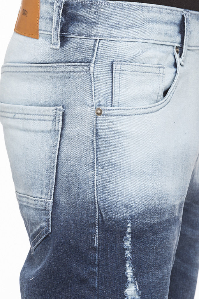 Slim Fit Ombre Effect Denims-6