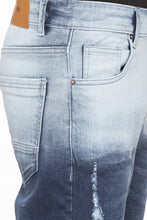 Load image into Gallery viewer, Slim Fit Ombre Effect Denims-6