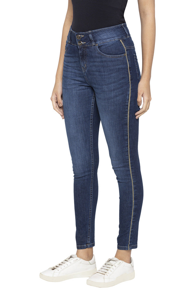Two Button Skinny Fit Denims-4