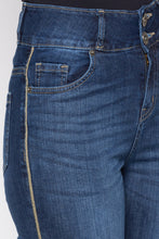 Load image into Gallery viewer, Two Button Skinny Fit Denims-5