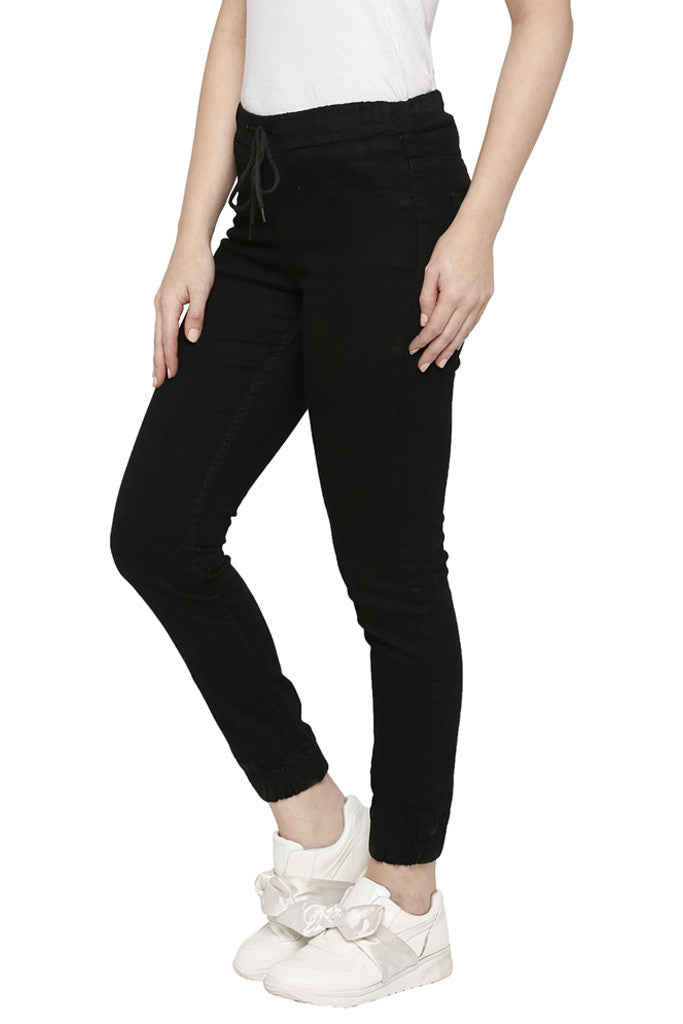 Solid Skinny Fit Denims-4