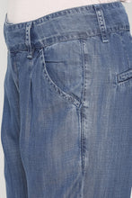 Load image into Gallery viewer, Mid-waist Solid Denims-5