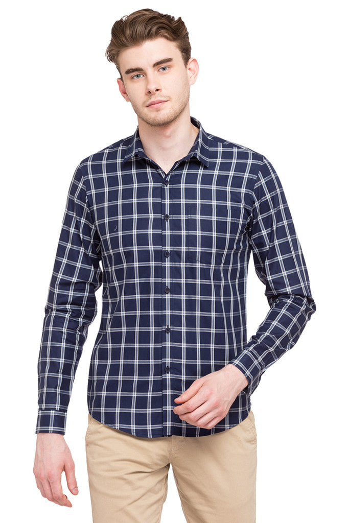 Casual Checked Shirt-1