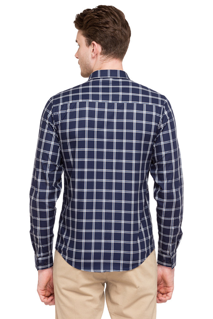 Casual Checked Shirt-3