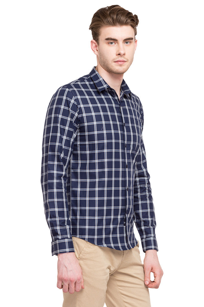 Casual Checked Shirt-4