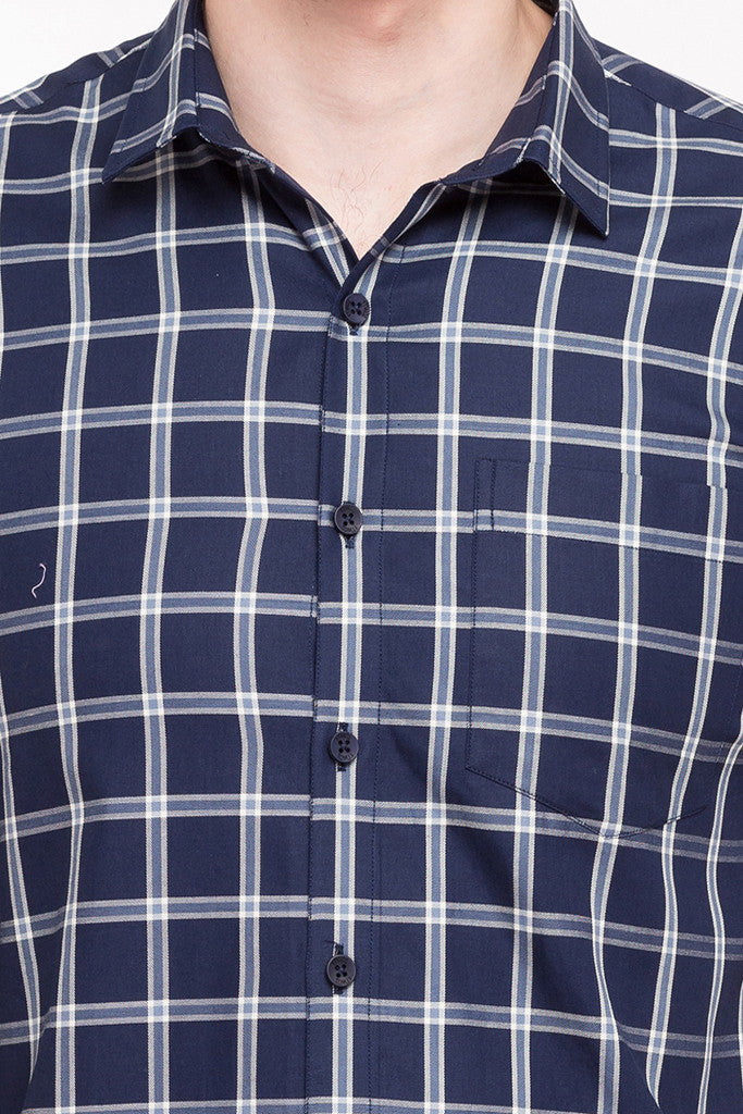 Casual Checked Shirt-6