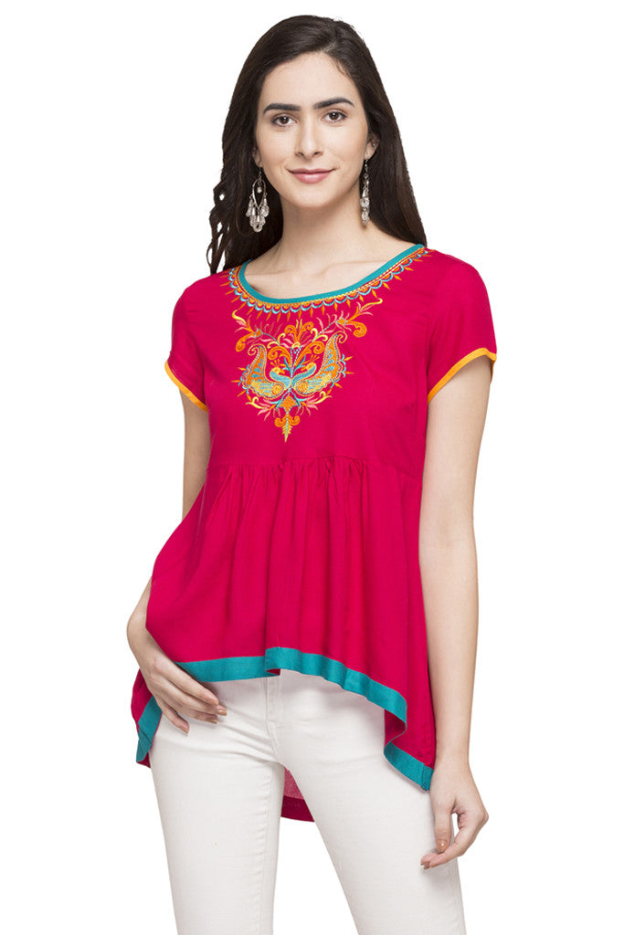 High-Low Ethnic Top-1