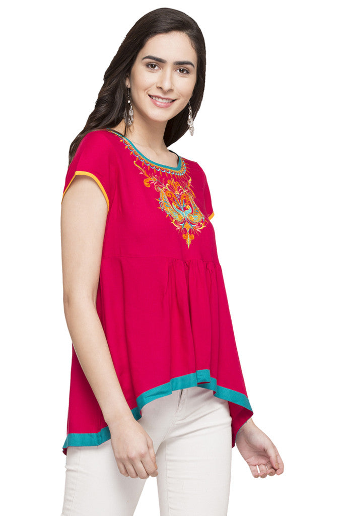 High-Low Ethnic Top-3