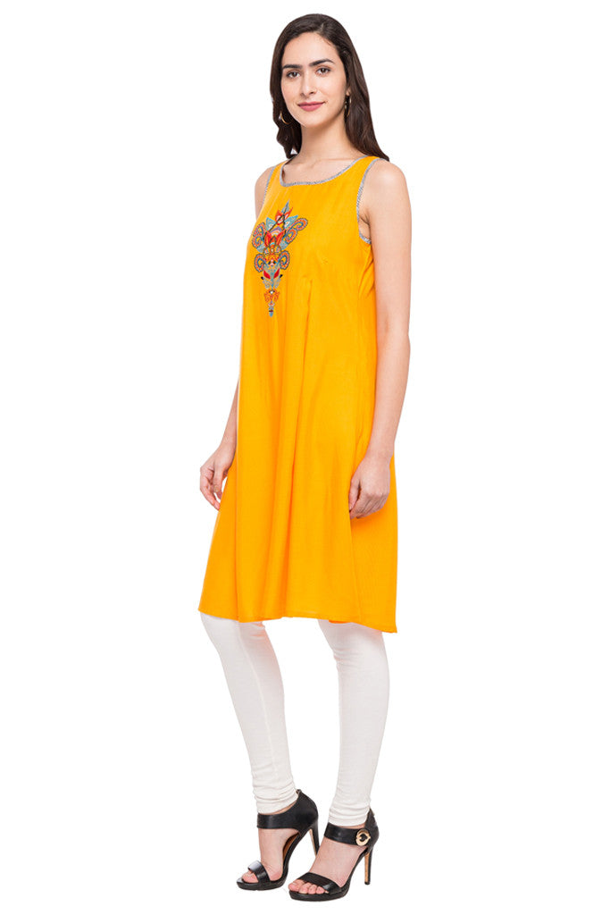 Embroidered Slip-On Tunic-5