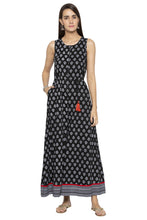 Load image into Gallery viewer, Ethnic Print Flared Jumpsuit-1