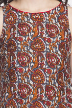Load image into Gallery viewer, Printed Handkerchief Hemline Kurta-6