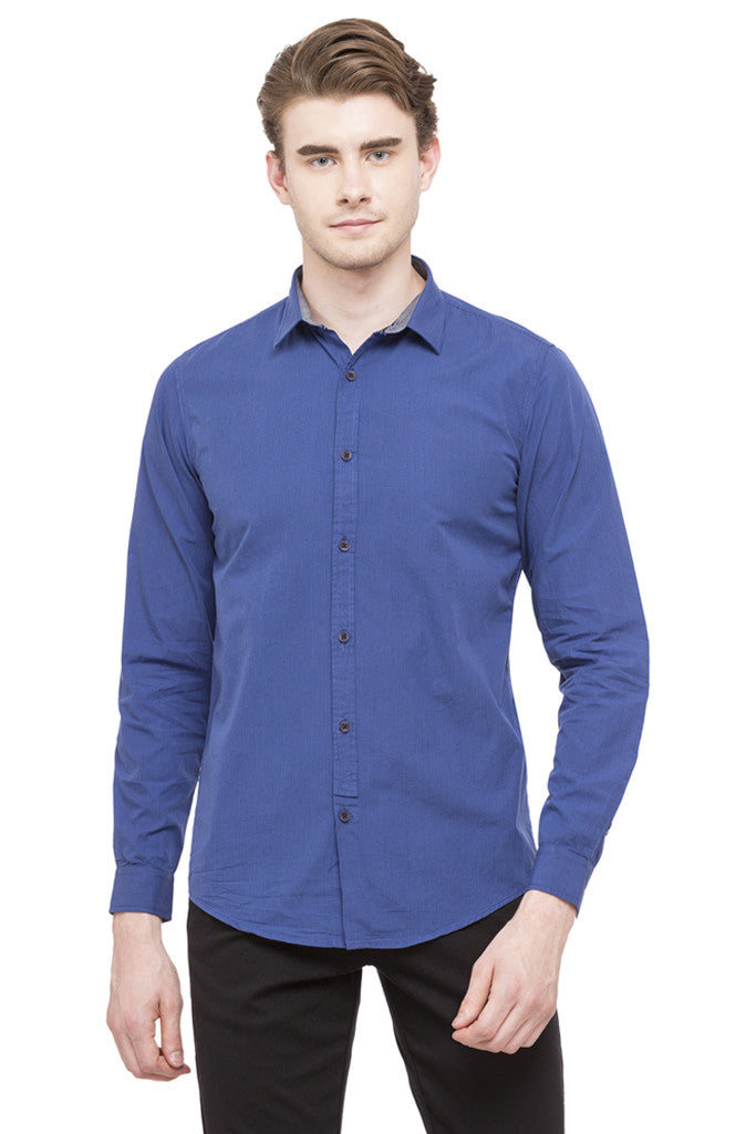 Graph Checked Casual Shirt-1