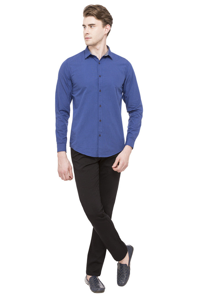 Graph Checked Casual Shirt-2