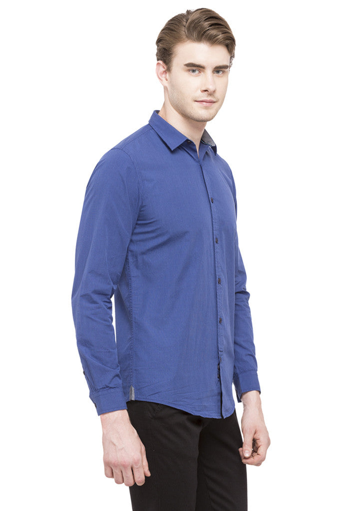 Graph Checked Casual Shirt-4