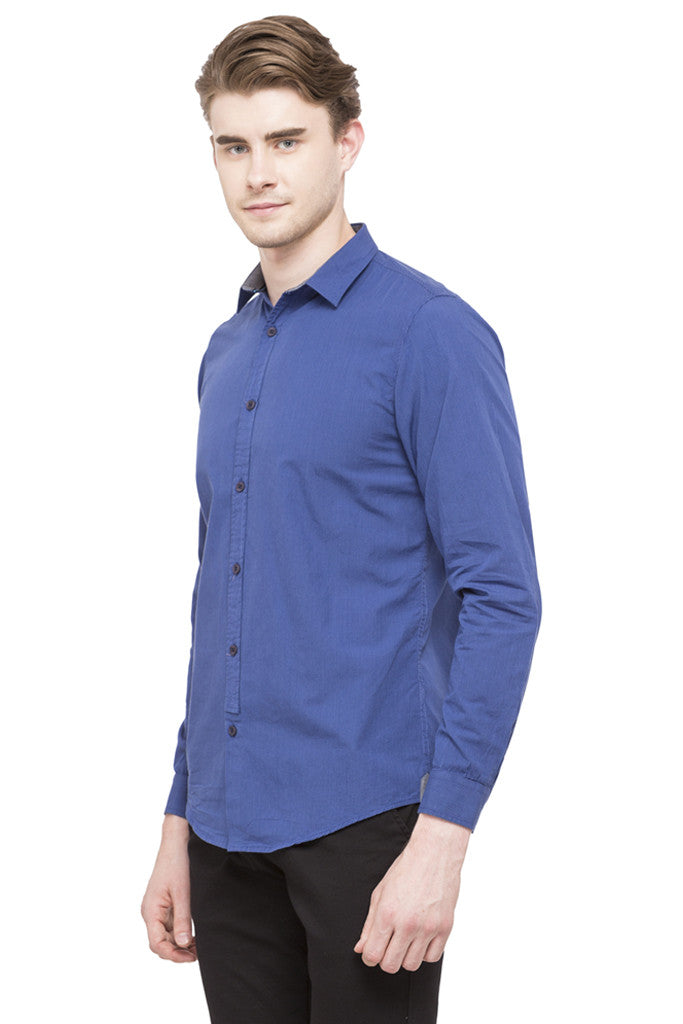 Graph Checked Casual Shirt-5
