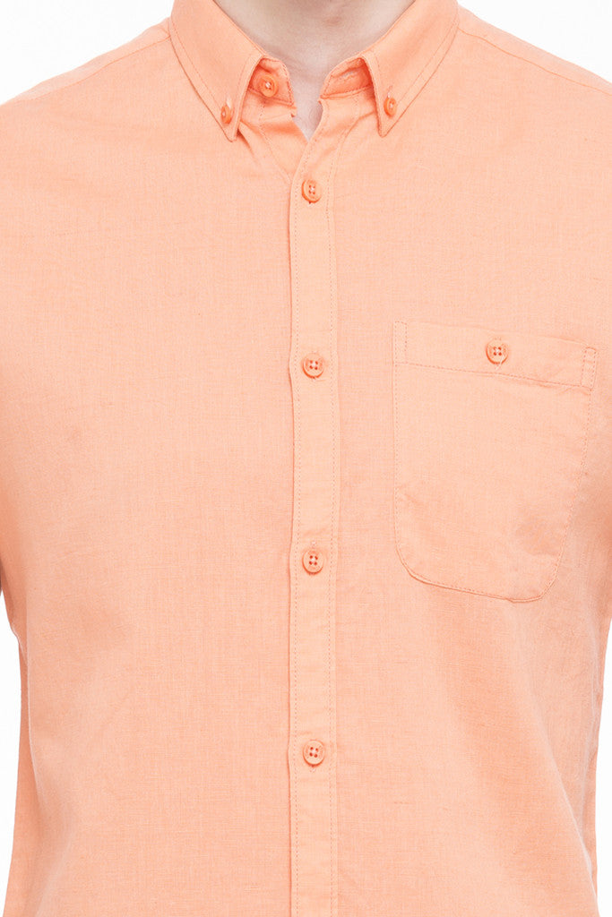 Solid Short Sleeved Shirt-6