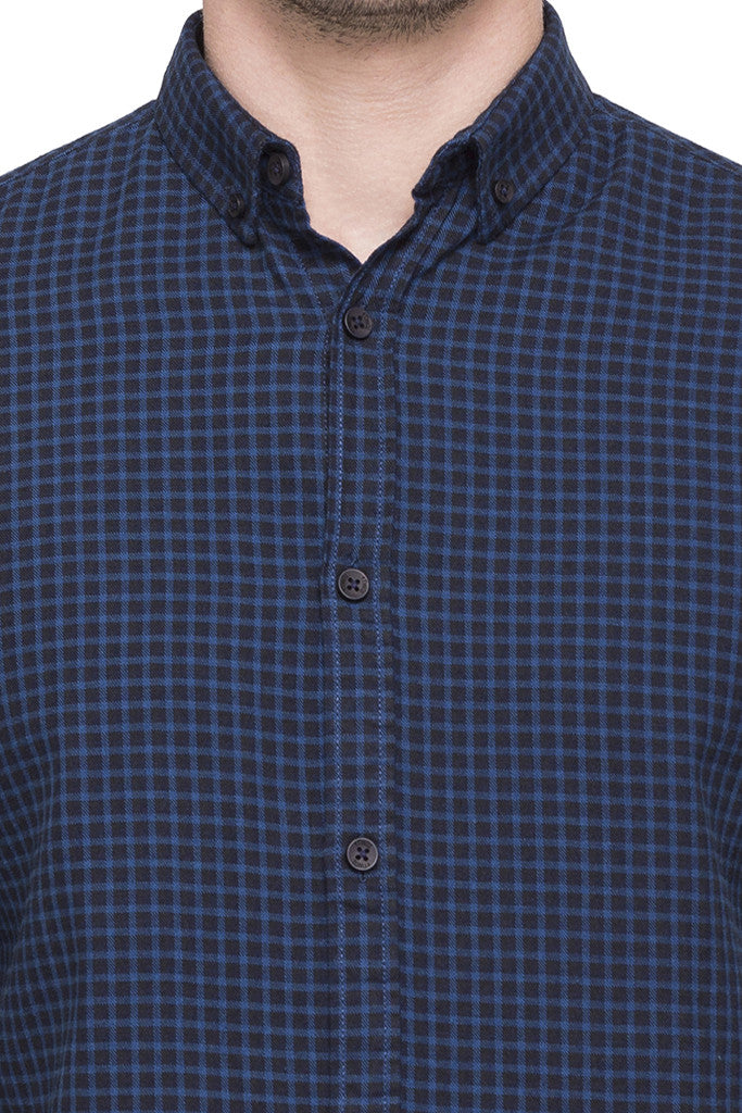 Checked Casual Shirt-6