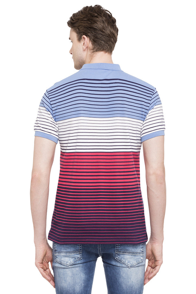 Polo Neck Short Sleeved T-shirt-3